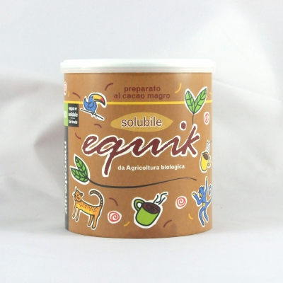 Equik cacao solubile-bio- 300 gr